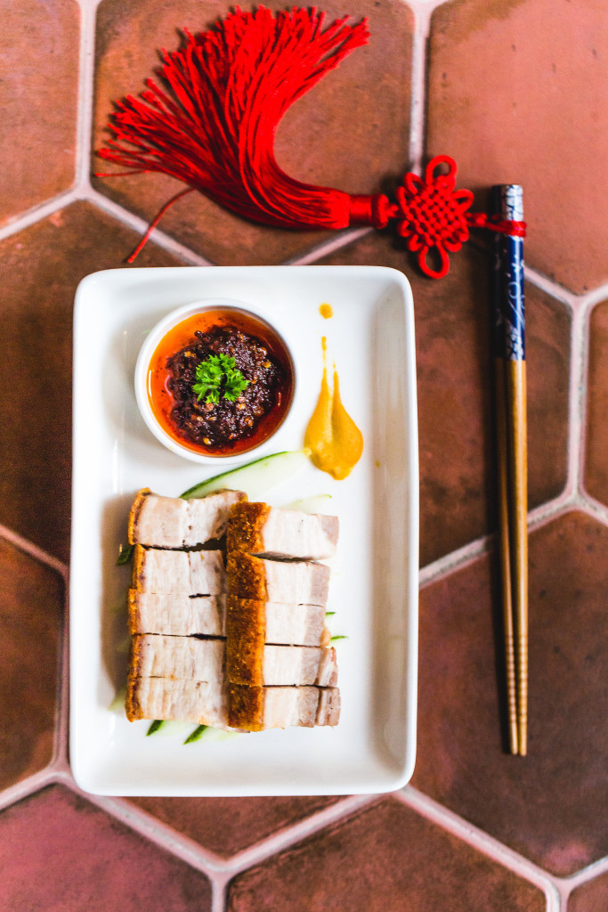 Crispy Roast Pork with Chili Oil Dip_2