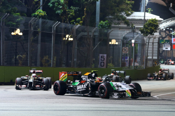 Formula One World Championship, Rd14, Singapore Grand Prix, Marina Bay Street Circuit, Singapore, Race Day, Sunday 21 September 2014.