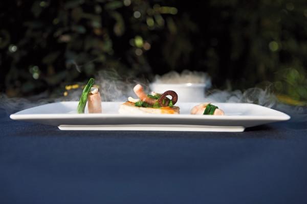 Schweiz, Tessin, Ascona, Hotel Il Giardino, Restaurant Ecco