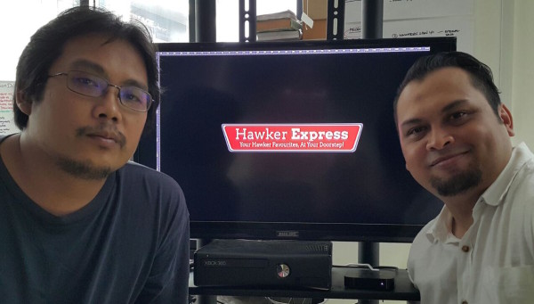 Hawker Express (Posed) - Founders (Raffi Ismail, left & Scott Abdullah Misso, right)