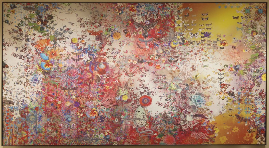Fairmont Singapore Lobby- Diversity by Claudia Caviezel
