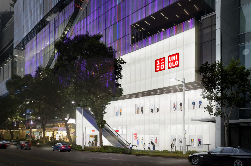 Store Facade Image - UNIQLO Singapore Flagship Store