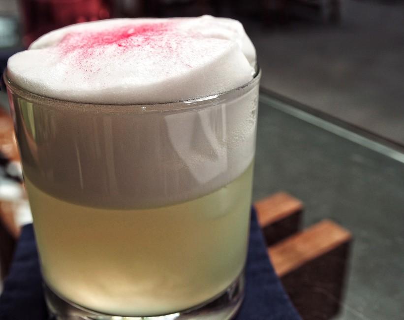 U-tai Fizz, gin, hasmin water, lime, egg white.jpg