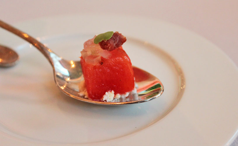 savelberg-wireless-road-degustation-menu-amuse-bouche-roasted-watermelon
