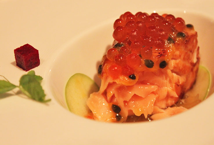 singapore-restaurant-week-fort-by-maison-ikkoku-sous-vide-salmon-with-ikura-passionfruit