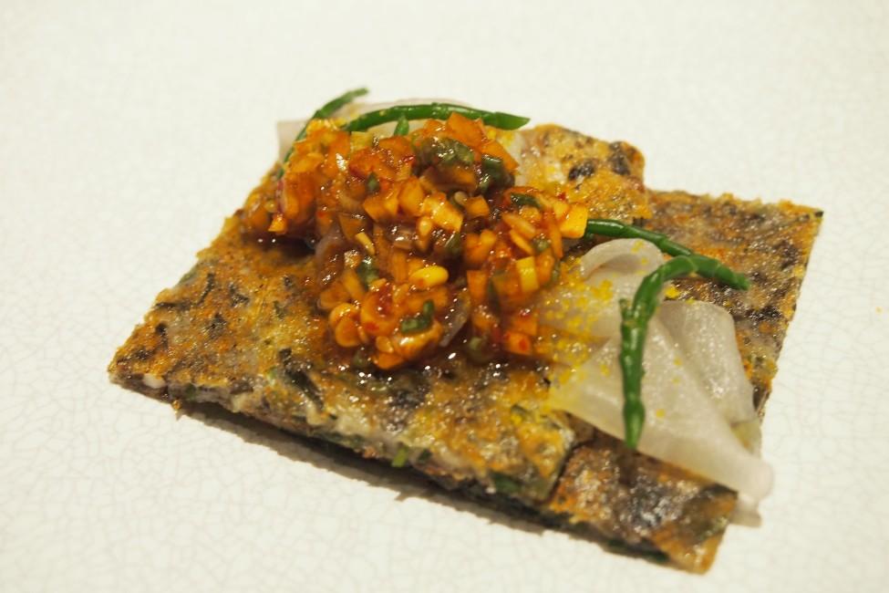 meta-keong-saik-road-classic-french-food-with-a-modern-korean-twist-Squid-Sea Snail-Fennel-Pancake