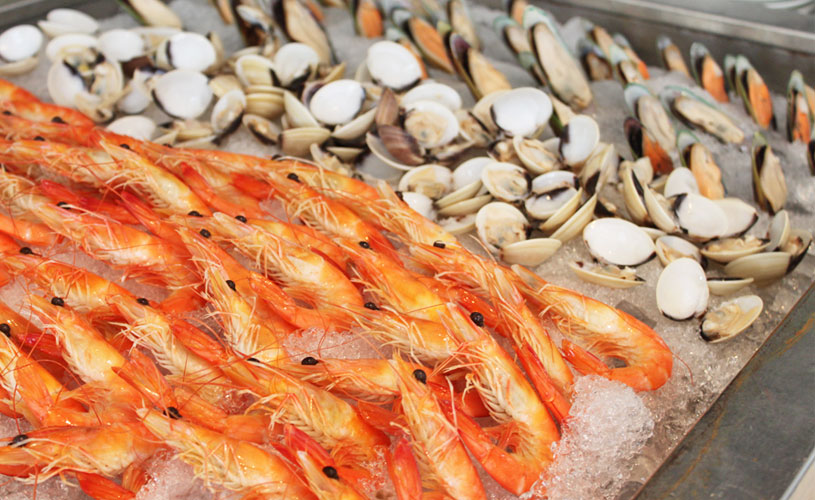 una-rochester-park-spanish-buffet-cold-seafood