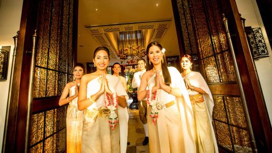 Hua Hin Lobby Greeting