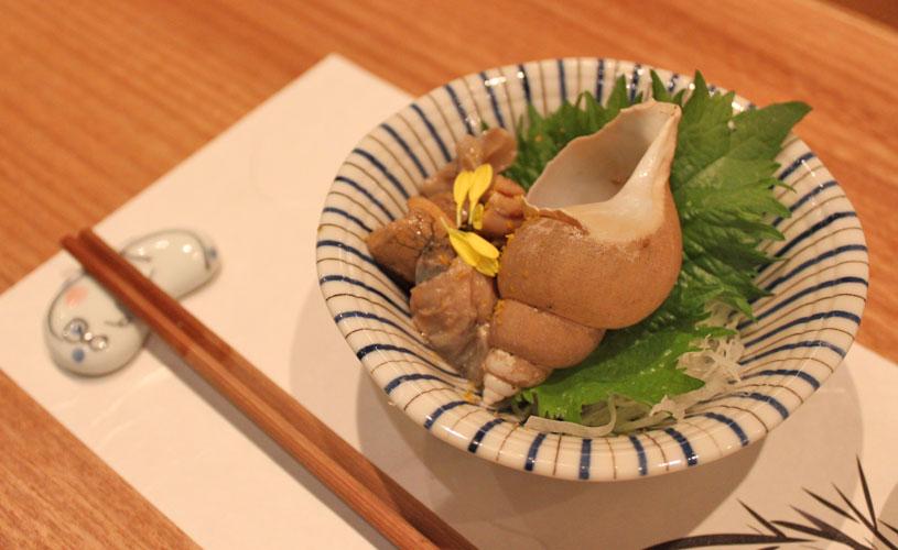 sushi-jin-les-amis-omakase-menu-sea-snail