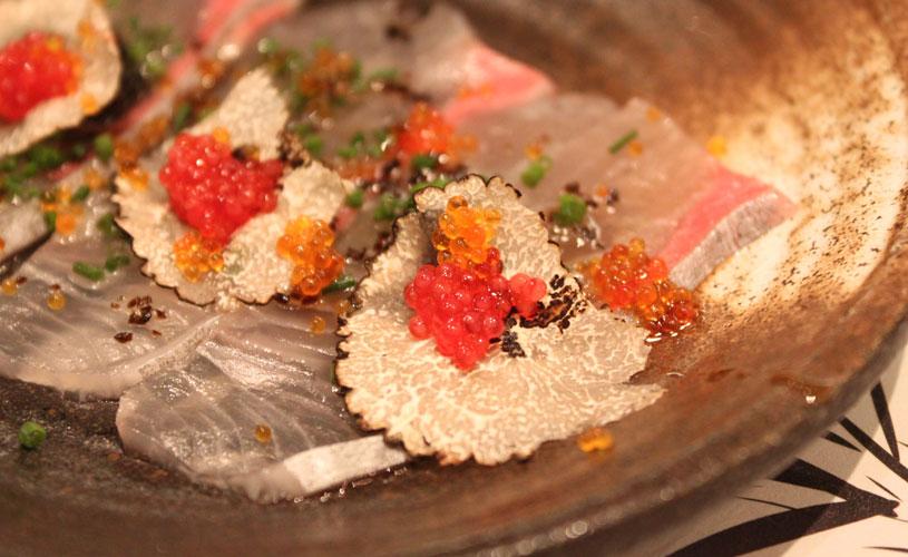 sushi-jin-les-amis-omakase-menu-truffle-kampachi