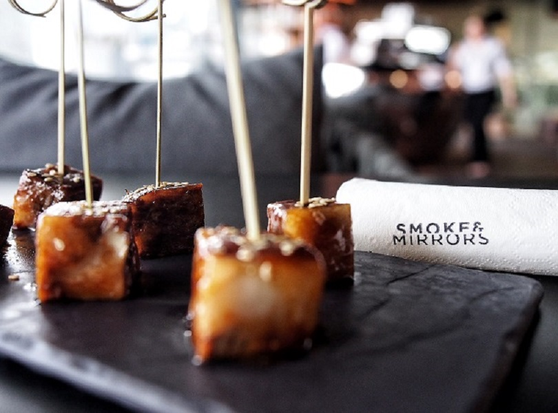 world-of-theatrical-cocktails-at-smoke-mirrors-national-gallery-beef-rib-pork-cubes-with-hoisin-sauce.jpg
