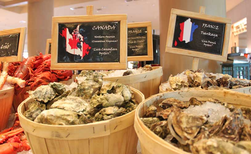 conrad-centennial-oscars-international-buffet-seafood-station-imported-oysters