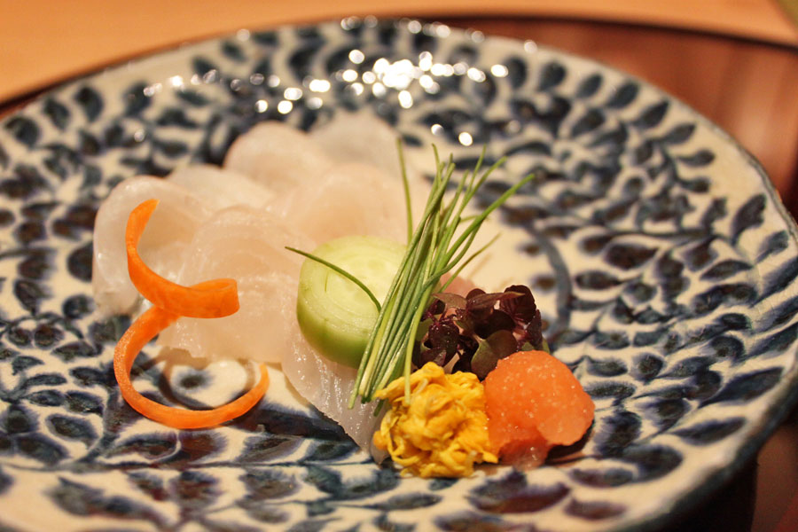 japanese-restaurant-kaiseki-yoshiyuki-forum-shopping-mall-flounder-with-ponzu-sauce
