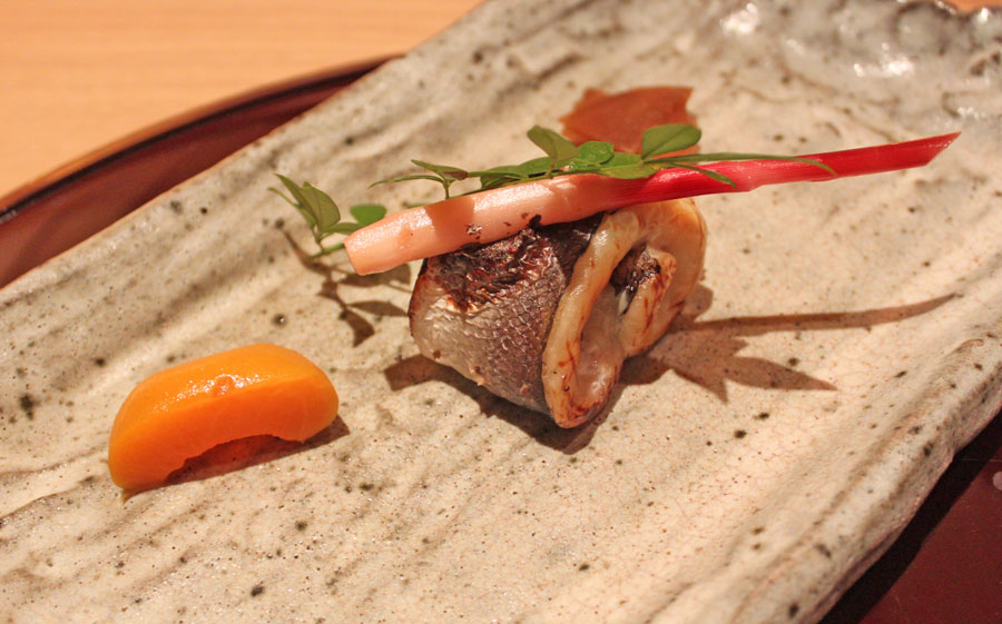 japanese-restaurant-kaiseki-yoshiyuki-forum-shopping-mall-grilled-barracuda