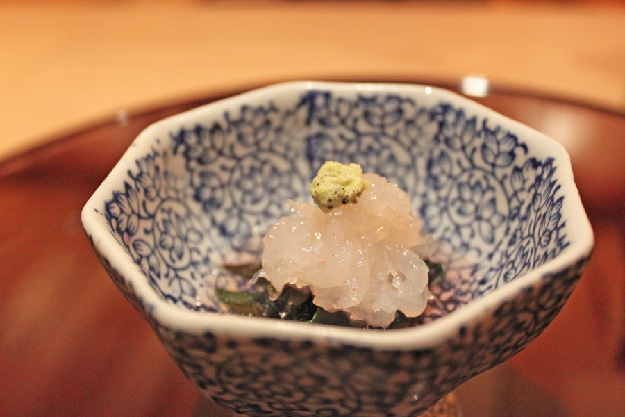 japanese-restaurant-kaiseki-yoshiyuki-forum-shopping-mall-shiro-ebi-starter