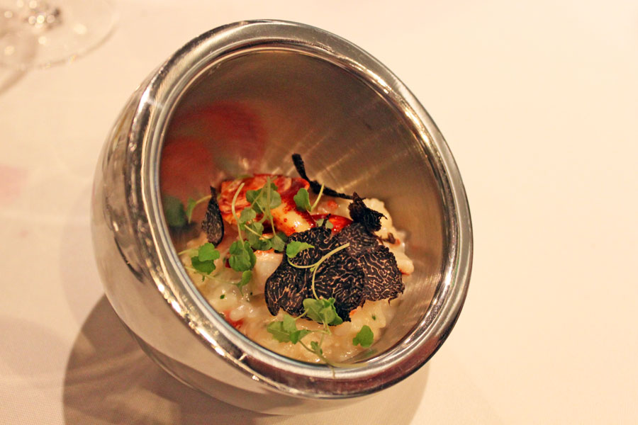 stellar-1-altitude-truffle-menu-truffle-risotto-poached-maine-lobster