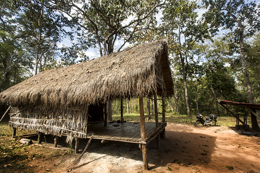 House in rural Cambodia