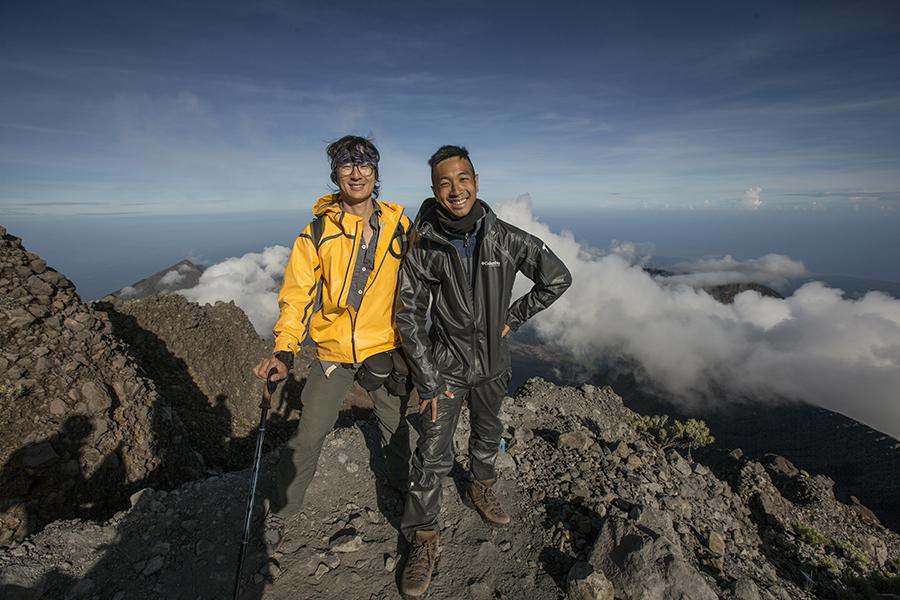 Lombok Island Rinjani Summit