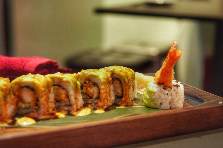 panko-singapore-kushikatsu-experience-review-restaurant-sushi-dragon-roll