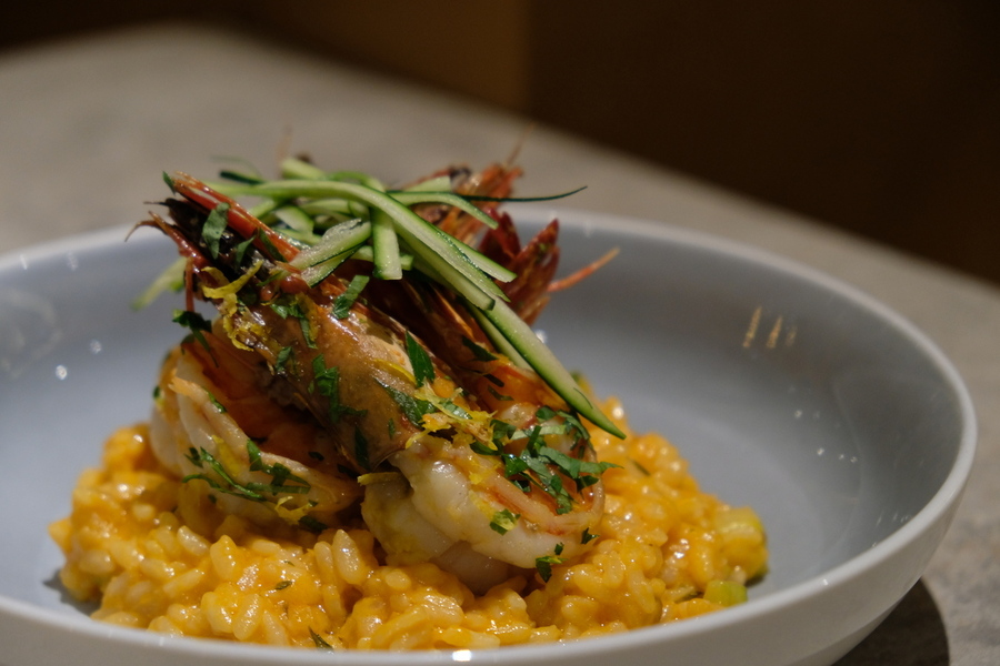 Blue Lotus Experience Dining Review Risotto Asiastyleasia