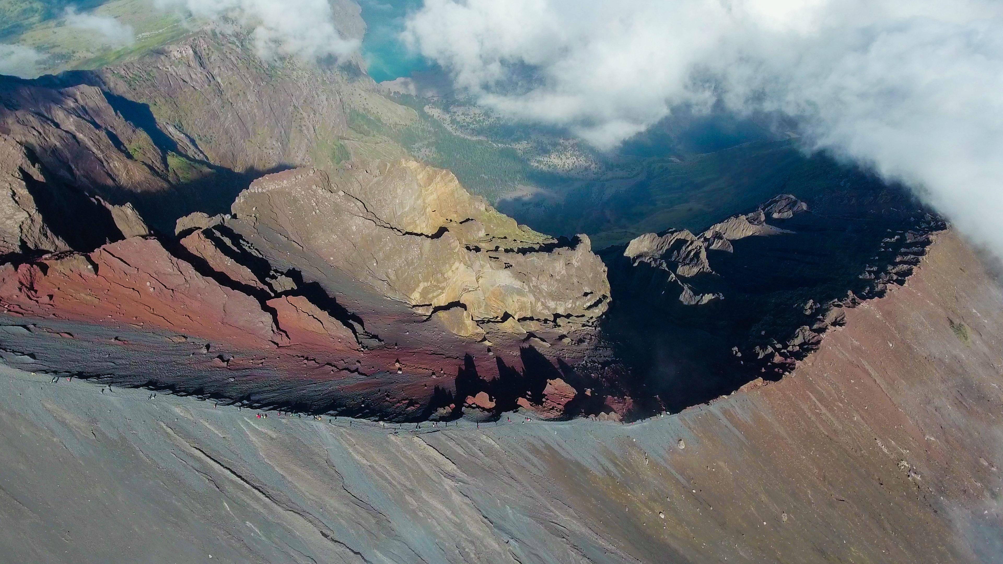Lombok Island Mount Rinjani
